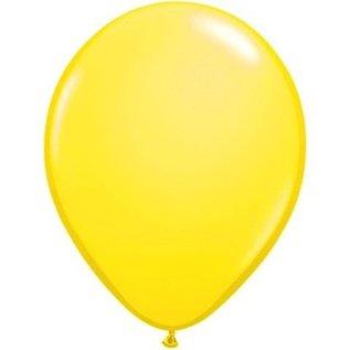 10x Neon Gele Helium Latex Ballonnen