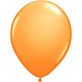 10x Neon Oranje Latex Ballonnen