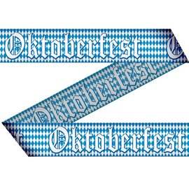 Blauw Wit Markeerlint Oktoberfest 15 Meter