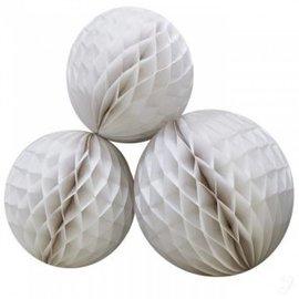 Witte Honeycomb 50cm Groot