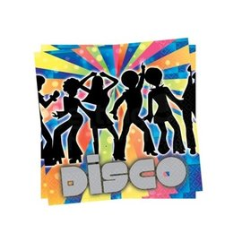 Disco Fever Thema Servetten