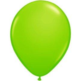 10x 12inch metallic Lime Groene Ballonnen