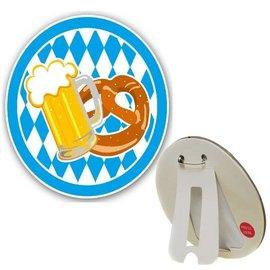 Oktoberfest Button met Knipperlichtjes