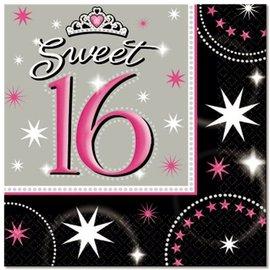 Sweet 16 servetten
