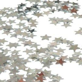Kleine Zilveren Sterren Confetti Foiletti