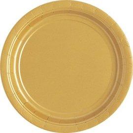 8x Gouden Weggooi Bordjes