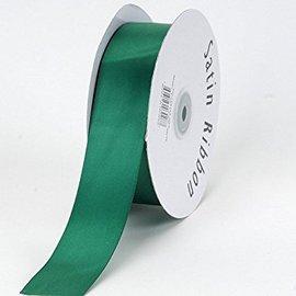 Groen 5 cm Breed Krullint Bloemenlint