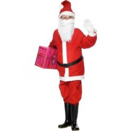 Kerstman Jongens Santa Kostuum