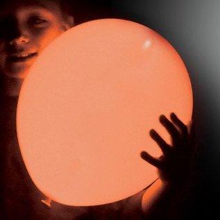5x Oranje Lichtgevende LED Illoom Ballonnen