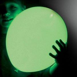 5x Groene Lichtgevende LED Ballonnen