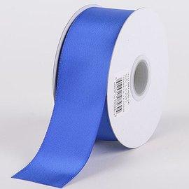 Donkerblauw 5cm Breed Bloemenlint