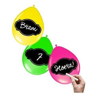 Persoonlijke Beschrijfbare Neon Ballonnen