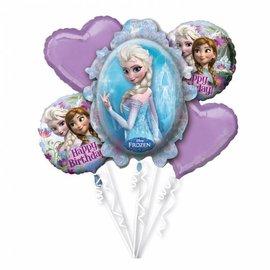 Frozen Helium Folieballonnen Boeket