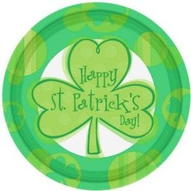 Happy Shamrocks St. Patrick's Day Borden