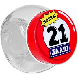 Candy Jar 21 Jaar
