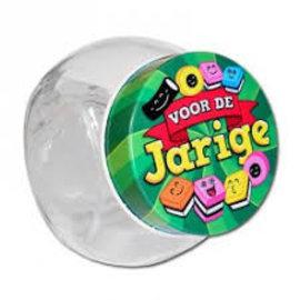 Candy Jar voor de Jarige