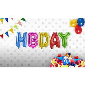 HB DAY Folieballonnen Set