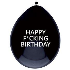 Happy F*cking Birthday Latex Ballonnen