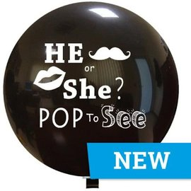 He or She Pop to See Grote Ballon