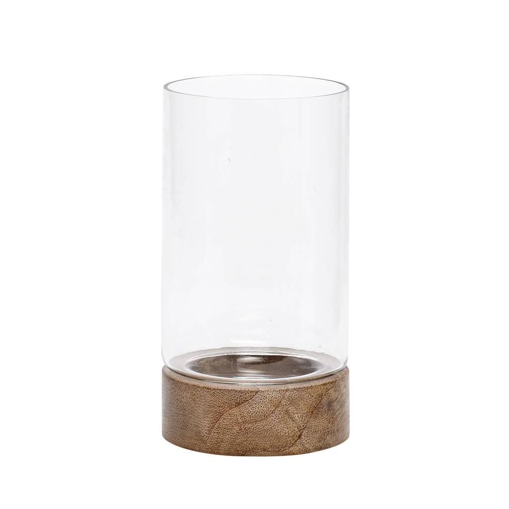 Hubsch Hübsch vaas wooden base