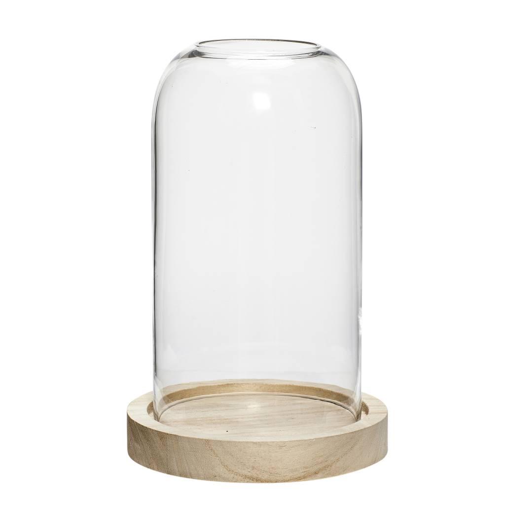 Hubsch Hübsch glazen stolp