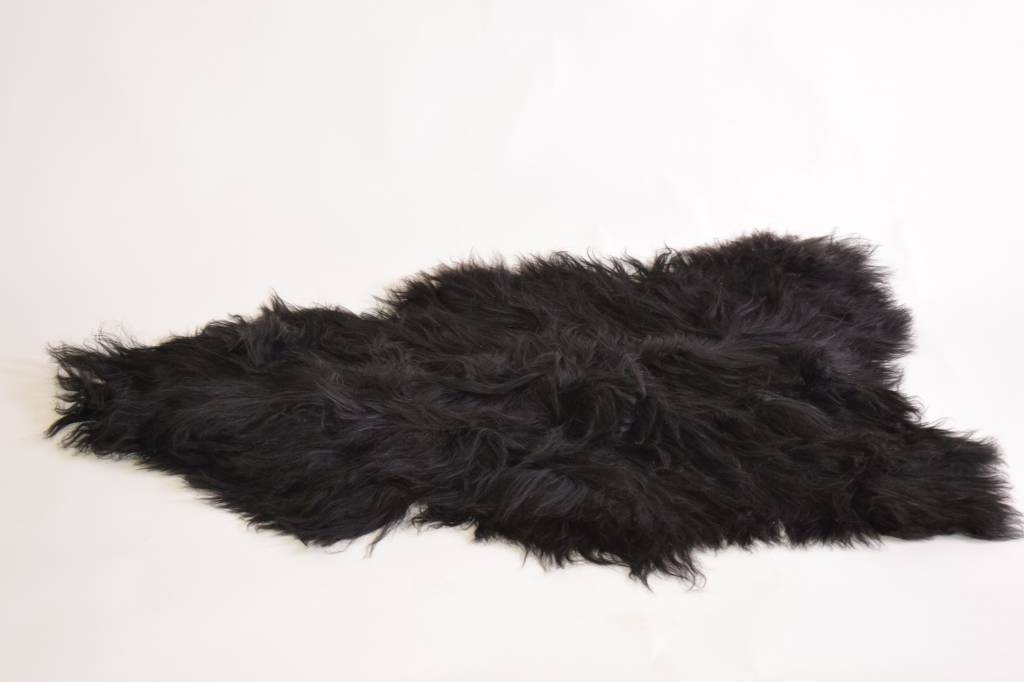 van Buren Bolsward IJslandse schapenvacht zwart