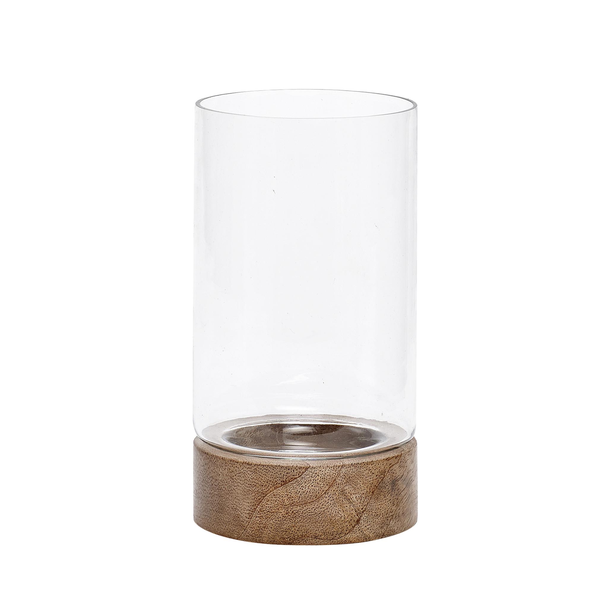 Hübsch vaas hout