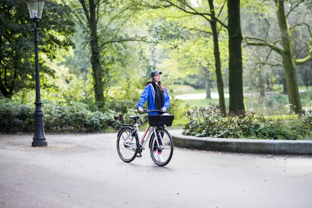 Vijf fietsroutes in Amsterdam