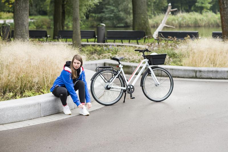 calorieën verbranden op de fiets