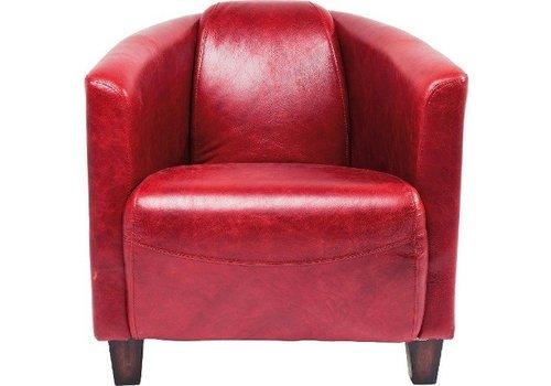 KARE Kare Arm Chair Cigar Lounge Red