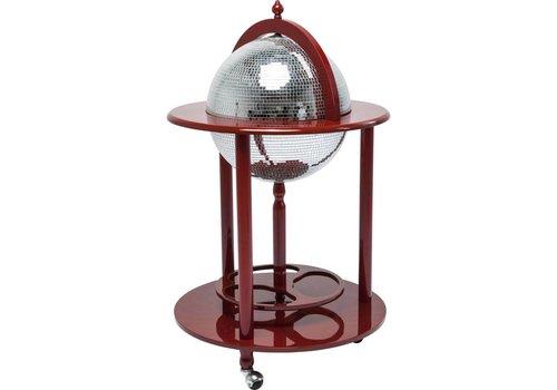 KARE Globe Bar Disco Red