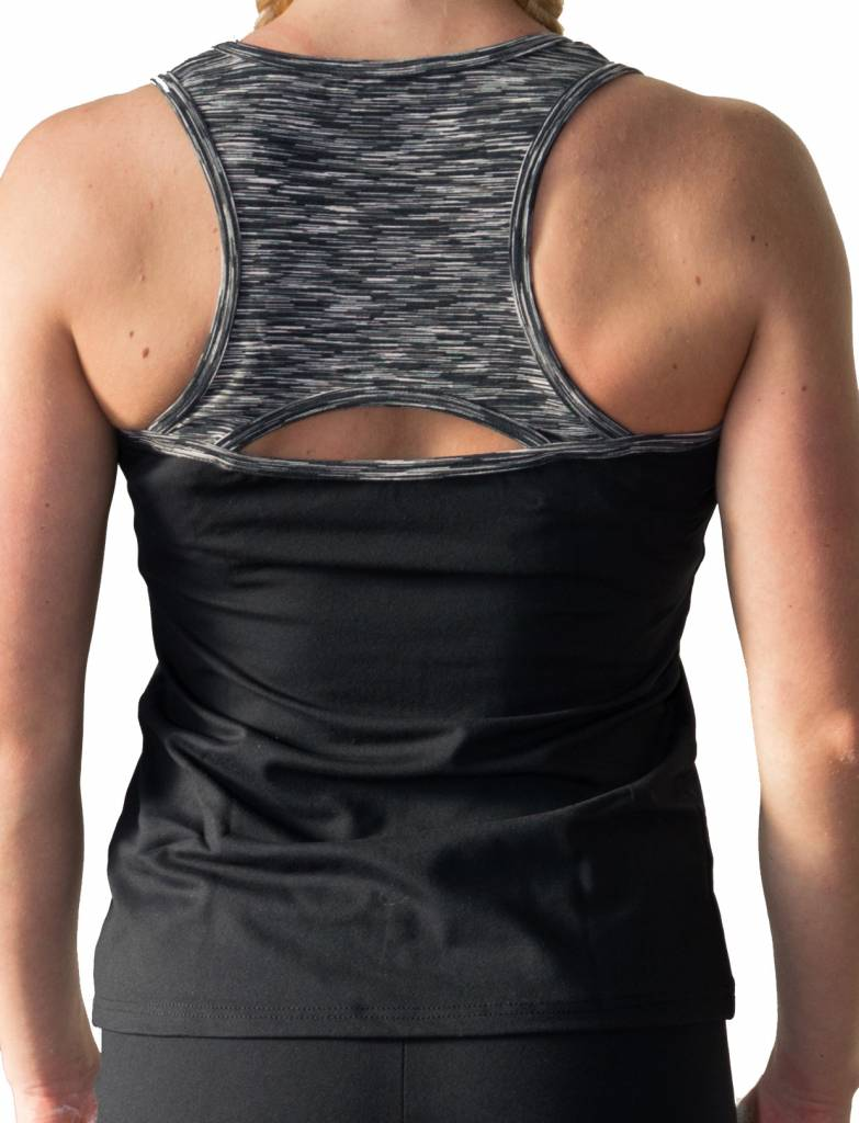 Pole fitness sporttop met rugdetail