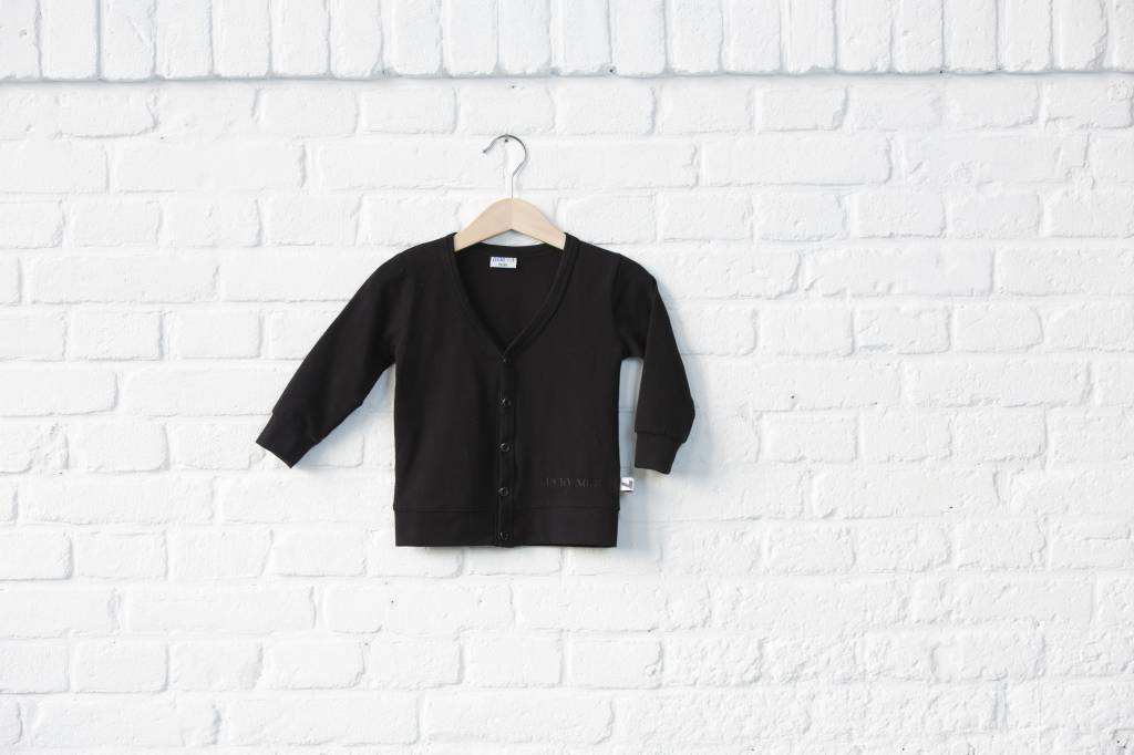 Lucky No. 7 Lucky No.7 Little black cardigan