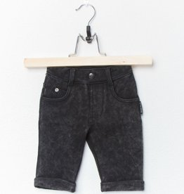 Lucky No. 7 Black jogdenim short