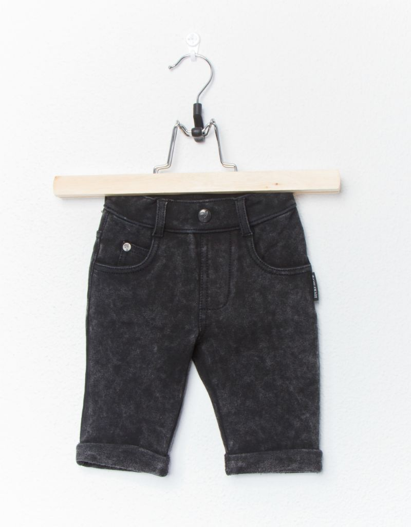 Lucky No. 7 Lucky No.7 Black jogdenim short