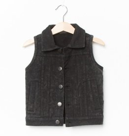 Lucky No. 7 Marble jog denim gilet - Limited edition