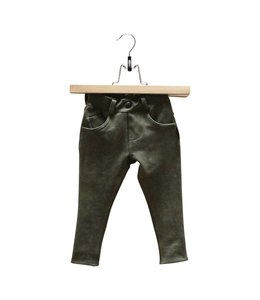 Lucky No. 7 Army green jogdenim pants
