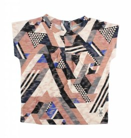 Small Rags Top met print