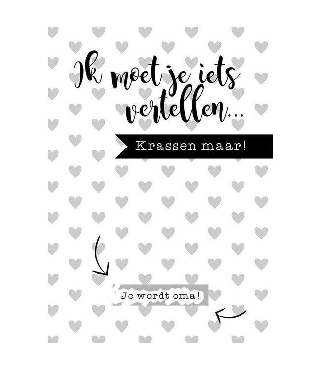 Mamakaart Rubbellos Du bist Opa - Copy