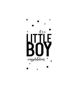 Mamakaart Postkarte It's a boy