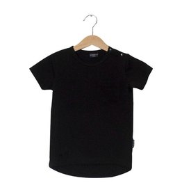 Lucky No. 7 Black Long Tee