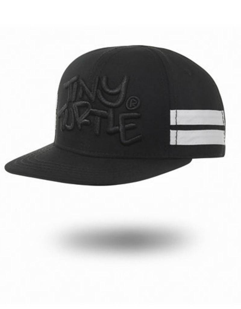 Tiny Turtle Tiny Turtle Caps Tiny Highback Black Stripes