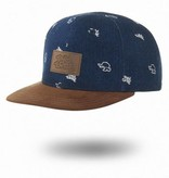 Tiny Turtle Tiny Turtle Caps Tiny Highback Denim