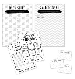 Mamakaart Babyshower spelpakket