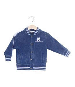 Lucky No. 7 Denim Bomberjacke