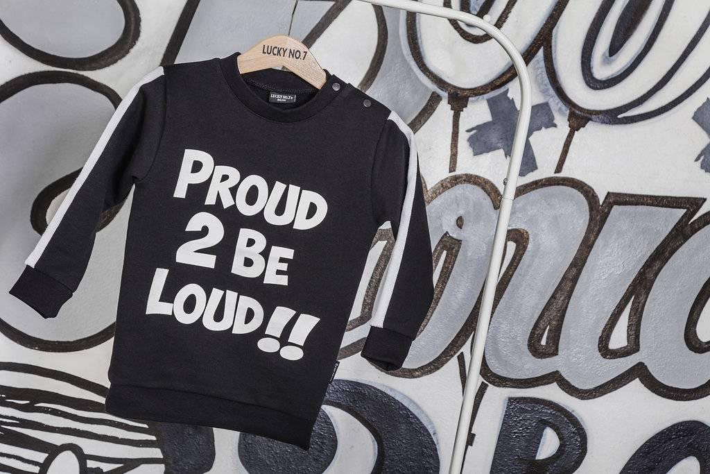 Lucky No. 7 Lucky No.7 Proud 2B Loud Sweater