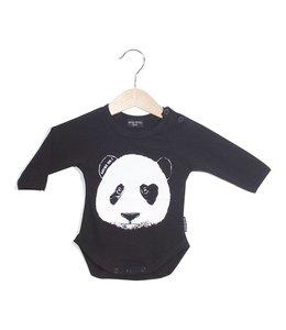 Lucky No. 7 Panda romper