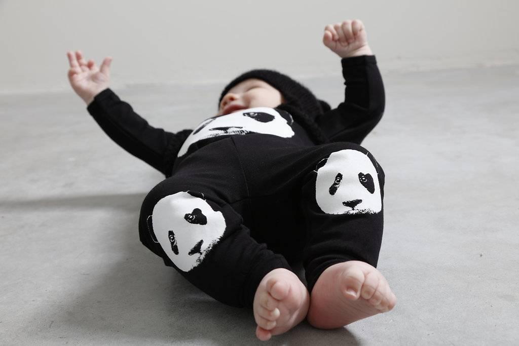 Lucky No. 7 Lucky No.7 Panda romper - Copy