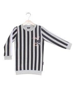 Lucky No. 7 Glück No.7 Stripy Pullover Kleid