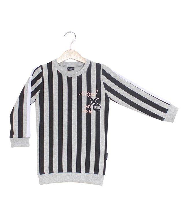 Lucky No. 7 Stripy Sweaterdress